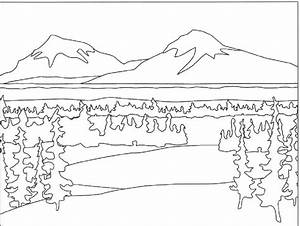 Lake #61 (Nature) – Printable coloring pages