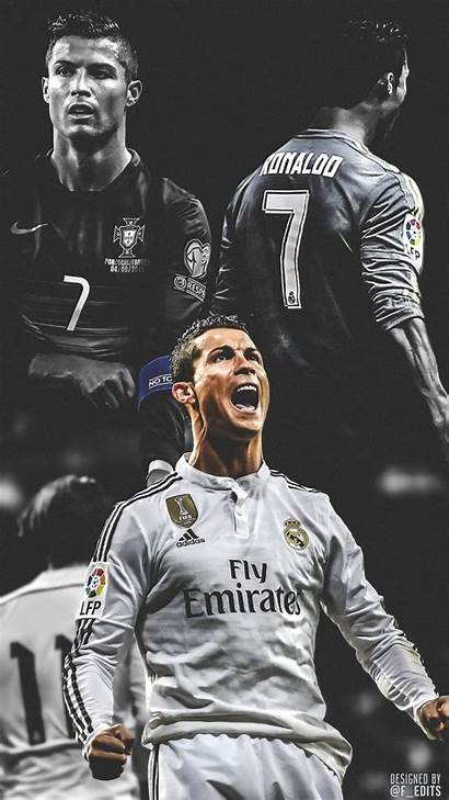 Ronaldo Cristiano Iphone Soccer Cr7 Messi Wallpapers