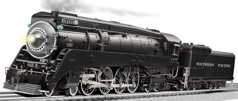 lionel o guage western pacific gs 4 class southern pacific legacy scale 4 8 4 gs 2 black 4412