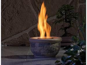 Feuerschalen Ethanol Garten : carlo milano terassenfeuer ton feuerschale luna f r bio ~ Michelbontemps.com Haus und Dekorationen