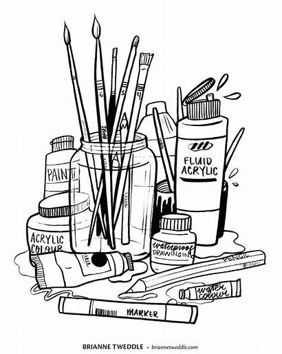 Supplies Colouring Creative Colour Opus Artist Stash