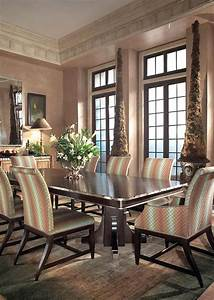 Luxury dining room furniture design by swaim high point for North carolina furniture living room sets