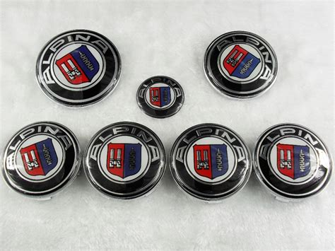 7-emblems-for-alpina-badge-hood-front-rear-trunk-logo
