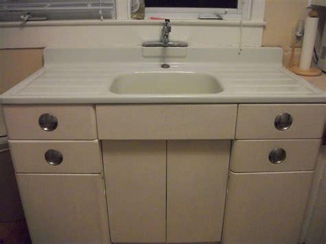 metal kitchen cabinet  porcelain sink  sale