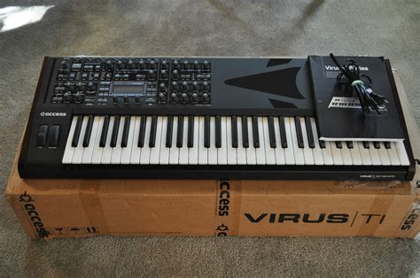 MATRIXSYNTH: Access Virus Ti Keyboard with Original Box