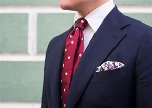 Navy Suit Red Tie