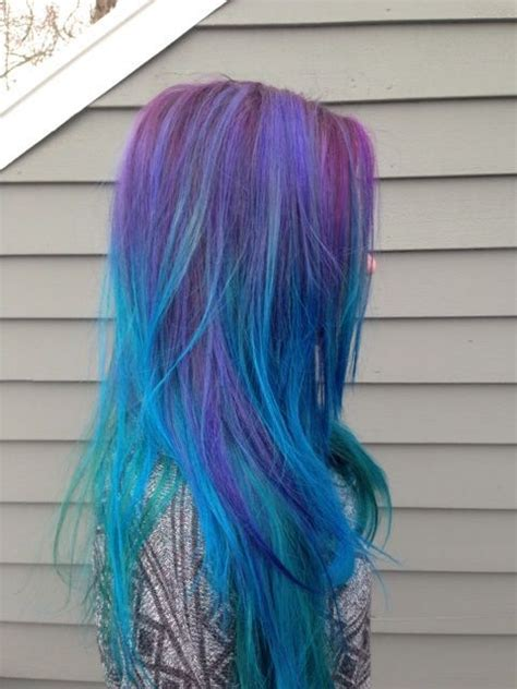 18 Best Images About Galaxy Color Hair On Pinterest