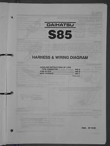 Daihatsu Hijet 1989 1994 S85 Wiring Diagram Pdf