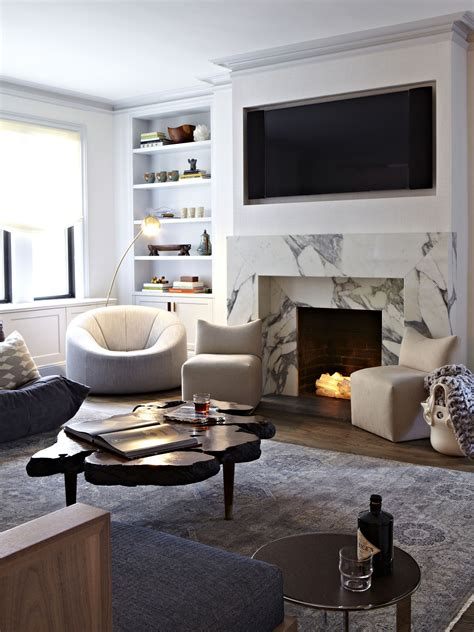 ideas  decorating  nonworking fireplace living