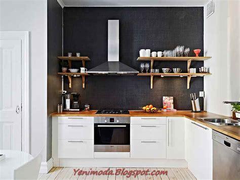 black kitchen wall cabinets mutfak modelleri modern mutfak dekorasyonu 2011 4725
