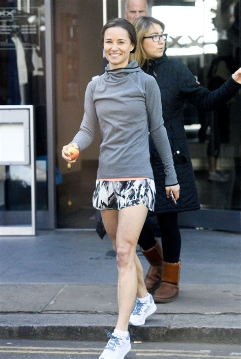 Pippa Middleton Leaving The Gym Celeblr