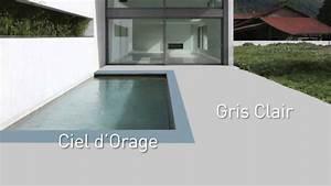 Peinture Pour Béton Extérieur : peinture sol terrasse bois exterieur ~ Premium-room.com Idées de Décoration