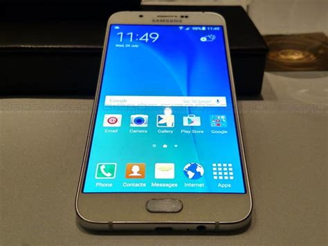 samsung galaxy a8 with metal octa chipset fingerprint scanner launched for rs 32 500