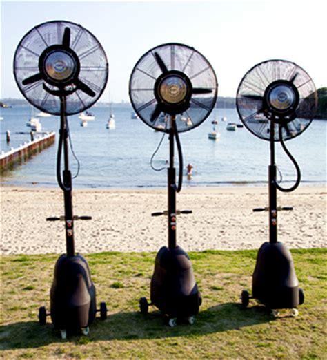 portable patio misting fans tornado portable misting fan climate australia