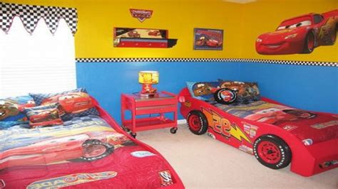 cars themed bedroom  boys cars bedroom decorating