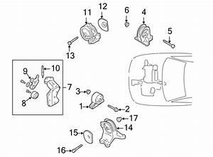 Chrysler Sebring Engine Timing Belt Idler  Liter  Bearings