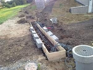 Ferraillage Fondation Mur De Cloture : photo fondation mur de clot re electricit moteur ~ Dailycaller-alerts.com Idées de Décoration