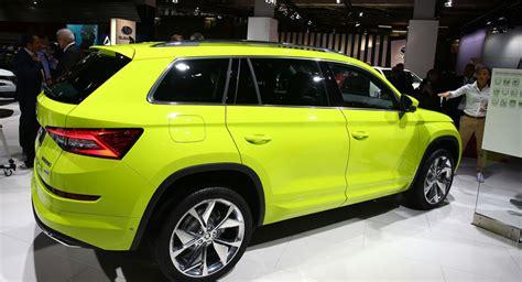 seat suv gebraucht skoda kodiaq suv mit 7 sitzen g 252 nstiger als tiguan auto motor und sport