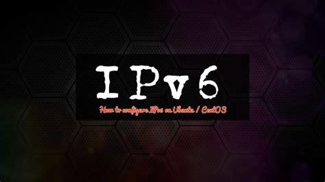 configuring ipv  ubuntu  centos kvm cloud server