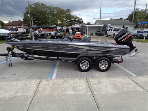 Triton Boats Reviews by 2017 Triton 19 Trx Patriot St Cloud Florida Boats