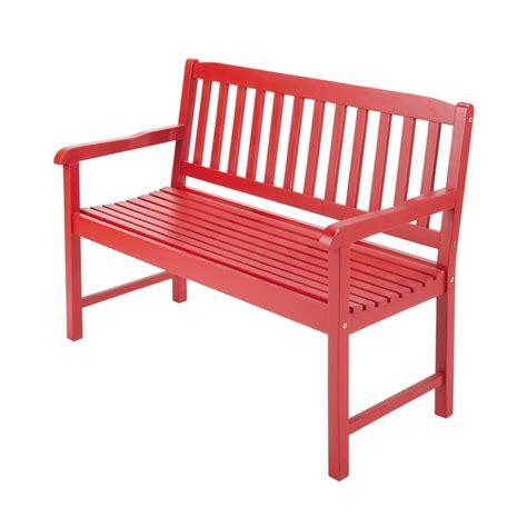 coussins de chaises de jardin banc de jardin 2 places en acacia l 120 cm
