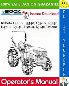 Download Kubota L3240 Service Manual  Kubota Tractor L3240