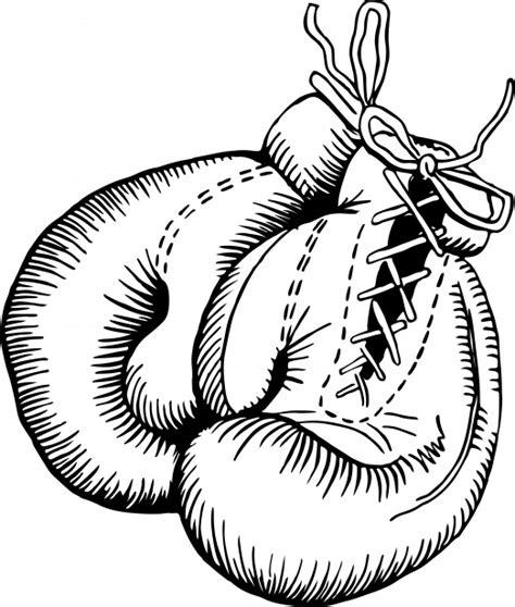 Bokshandschoenen Kleurplaat by Boxing Gloves Free Stock Photo Domain Pictures