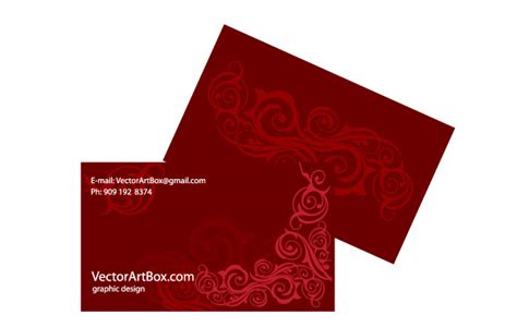 Red Business Card Customizable Vector Business Cards For Bakery Cakes Card Beauty Salon Free Cheapest Bulk Visiting Printing Berlin Products Bristol University Out Of The Box