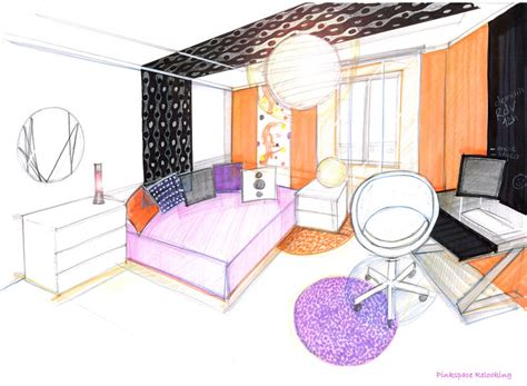 comment dessiner sa chambre relooking chambre pop 13 pinkspace clain