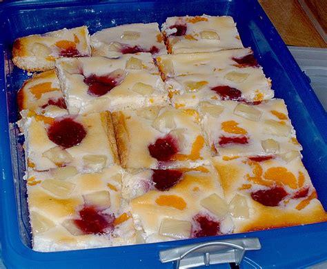 Obst  Schmand  Kuchen (rezept Mit Bild) Von Weichilie