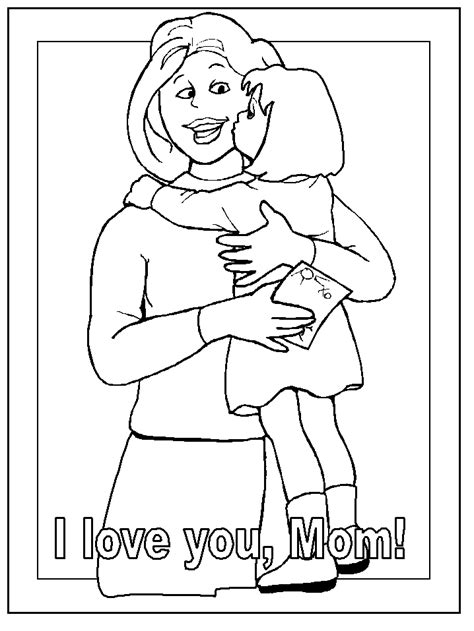 mother day coloring pages az coloring pages