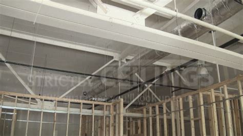 hanging drywall on angled ceiling install drywall suspended ceiling grid systems drop