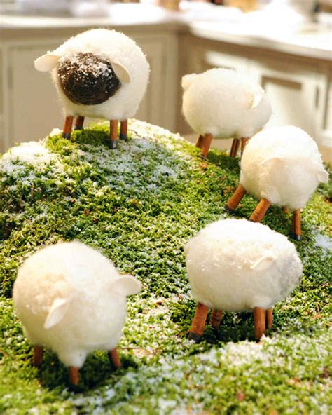 valentines day decorations for home 120110 felted sheep martha stewart 43186