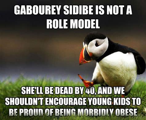 Gabourey Sidibe Memes - livememe com unpopular opinion puffin