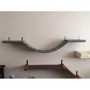 cat bridge cat wall mounted bridge with raised ledge