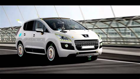 peugeot 3008 tuning peugeot 3008 hibrid sport tunning restyling demo 01