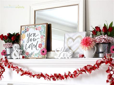 valentine s day home decorating ideas valentine s