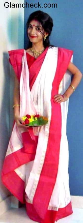 indian youtuber presents durga puja traditional bengali