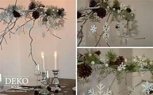 Basteln Mit ästen Und Zweigen : diy weihnachtlicher deko zweig deko kitchen blumendeko pinterest tes fai da te und selber ~ Whattoseeinmadrid.com Haus und Dekorationen