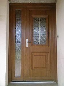 realisations fenetres portes fenetres porte d39entree With porte d entrée pvc avec fenetre pvc en renovation