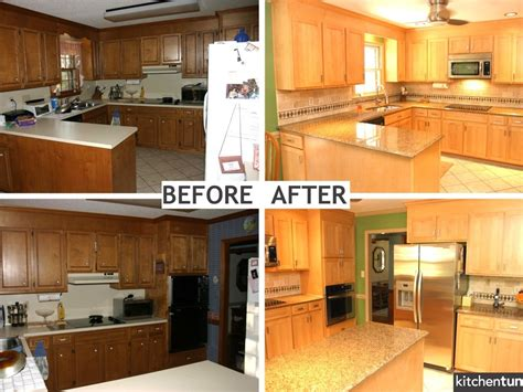 reface kitchen cabinets before and after refacing kitchen cabinets before and after photos all