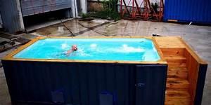 Pool Aus Container : containerpools event highlight und garten schwimmbad ~ Orissabook.com Haus und Dekorationen