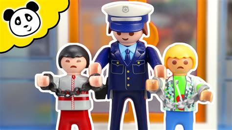 filme kinder playmobil polizei kinder verhaftet playmobil