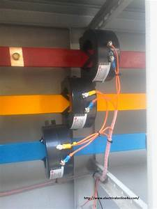 Current Transformer Installation For Three Phase Power Supply