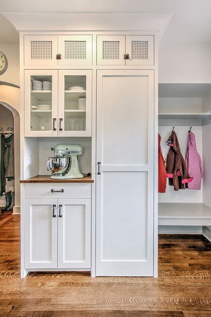 Tudor Kitchen   Pantry Wall   Traditional   Entry