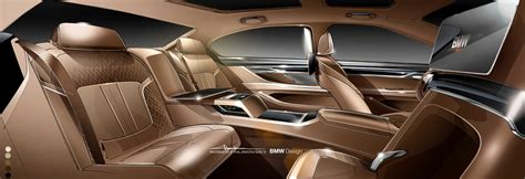 The New Bmw 7 Series  Interior Sketch Bmw Individual (06