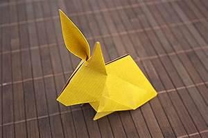 Pliage Serviette Lapin Simple : un lapin en origami ~ Melissatoandfro.com Idées de Décoration