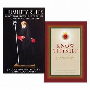 Humility Rules  St  Benedict U0026 39 S 12