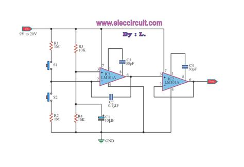Switch Volume Control Amp Circuit Diagram World