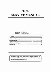 Tcl 21k77 Chassis Nx56b Sch Service Manual Download